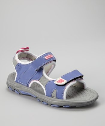 Purple Denali Sandal - Kids