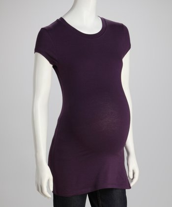 Plum Maternity Crewneck Top - Women & Petite