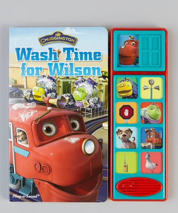 Chuggington: Wash Time for Wilson Audio Board Book
