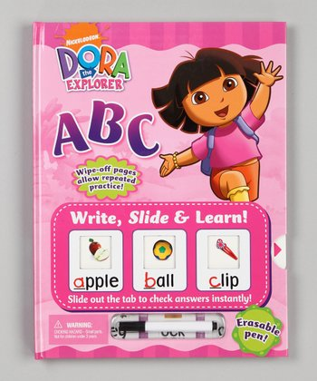 ABC Write, Slide & Learn! Dora the Explorer Hardcover