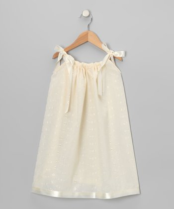 Ivory Lace Swing Dress - Infant, Toddler & Girls