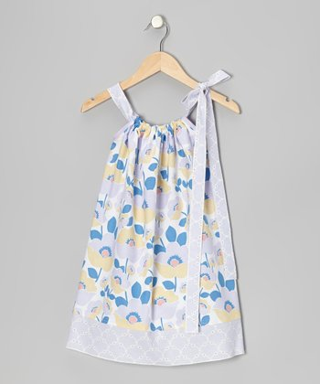Lavender Floral Swing Dress - Infant, Toddler & Girls