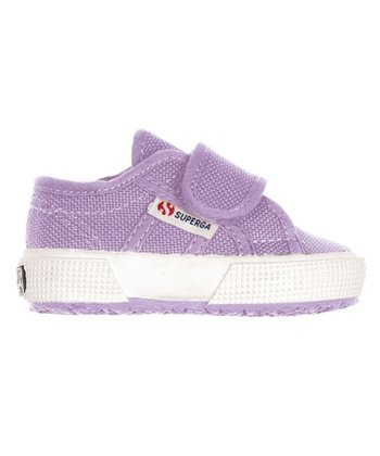 Lilac Velcro 2750 Classic Sneaker - Infant & Toddler