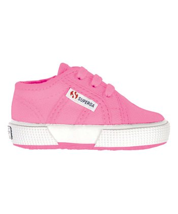 Hot Pink Lace-Up 2750 Classic Sneaker - Infant & Toddler