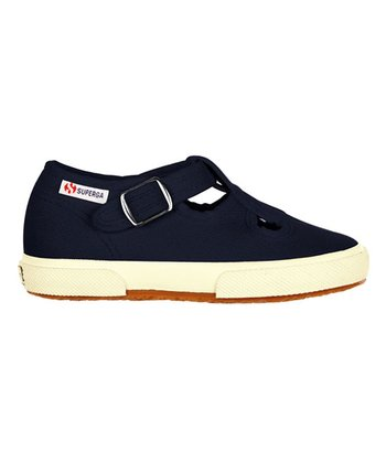 Navy Snap Strap 205 Mary Jane - Toddler & Kids