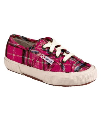 Fuchsia Tweed Lace-Up 2750 Sneaker - Toddler & Kids