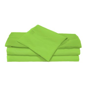 Key Lime Microfiber Sheet Set
