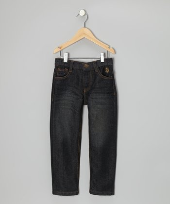 Berkeley Wash Straight-Leg Jeans - Toddler