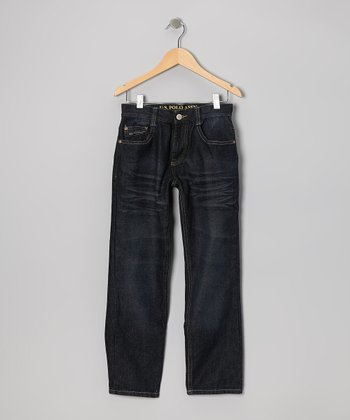 Dark Wash Berkley Straight-Leg Jeans - Boys