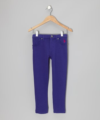Plum & Pink Skinny Jeans - Toddler & Girls