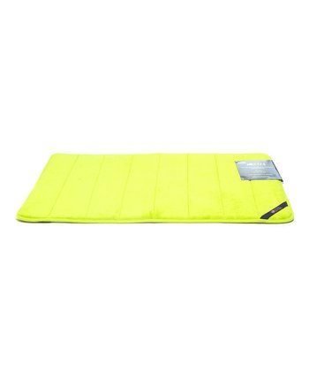 Key Lime Microplush Memory Foam Bath Mat
