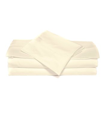 Ivory XOXO Microfiber Sheet Set