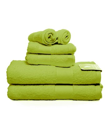 Key Lime Ringspun Bath Towel