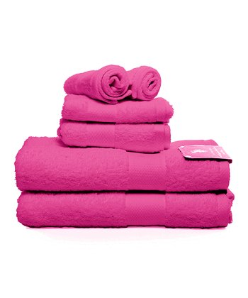 Raspberry Soda Ringspun Bath Towel