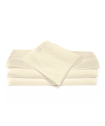 White Luxurious Solid Sheet Set