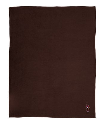 Cocoa Fleece Throw