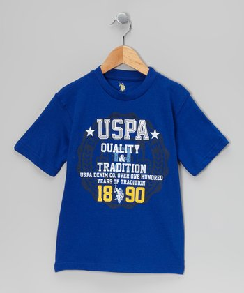 Cobalt Blue 'USPA Quality' Tee - Toddler & Boys