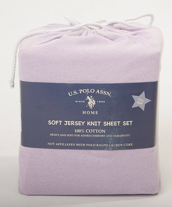 Orchid Mist SuperSoft Jersey Knit Sheet Set