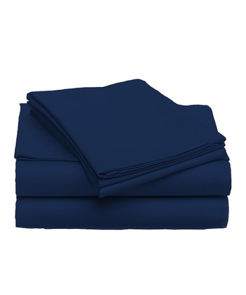 Midnight Navy Sheet Set