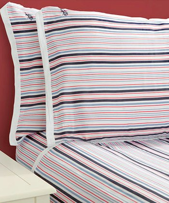 Stripe Sateen Luxury Sheet Set