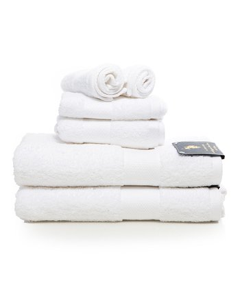 White Ringspun Wash/Hand Towel