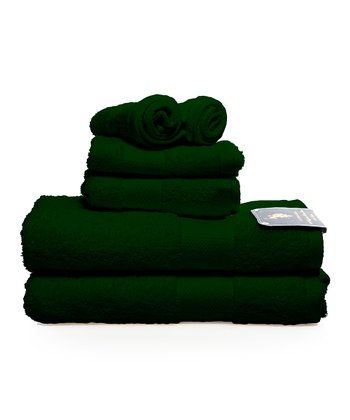 Hunter Green Ringspun Towel