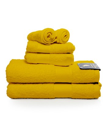 Yellow Ringspun Towel
