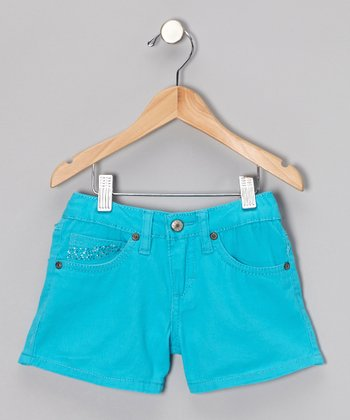 Scuba Blue Shorts - Girls