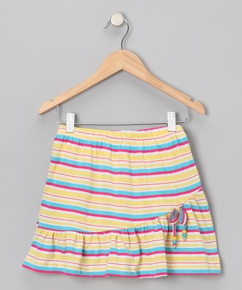 Yellow Stripe Skirt - Toddler & Girls