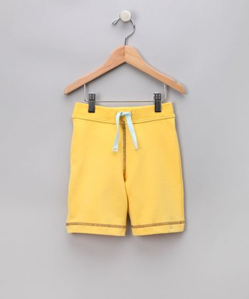 Yellow Sweat Shorts - Infant & Boys