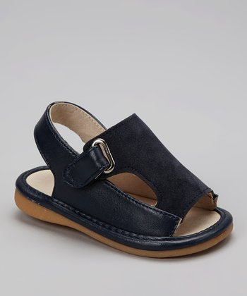 Navy Connor Squeaker Sandal