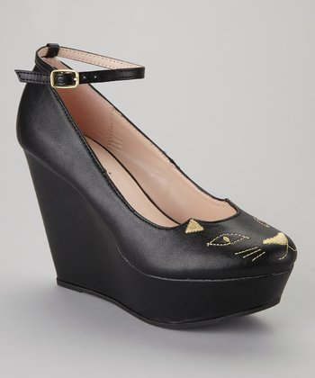 Black Zena-120 Wedge