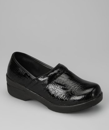 Black Crocodile Loafer