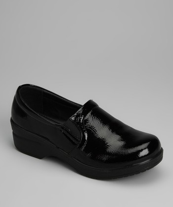 Black Patent Clog - Women