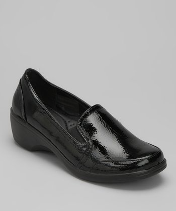 Black Patent Karl Loafer