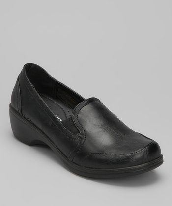Black Smooth Karl Loafer