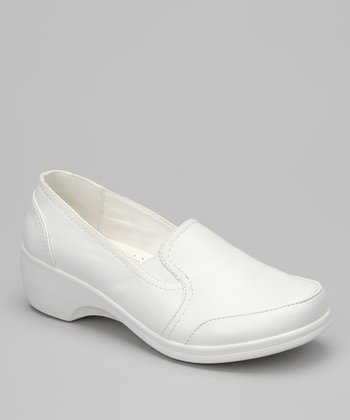 White Karl Loafer