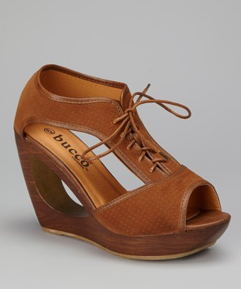 Cognac Padme Wedge