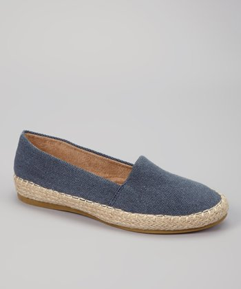 Blue Denim Ruby Slip-on