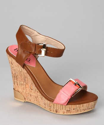 Coral Severina Wedge