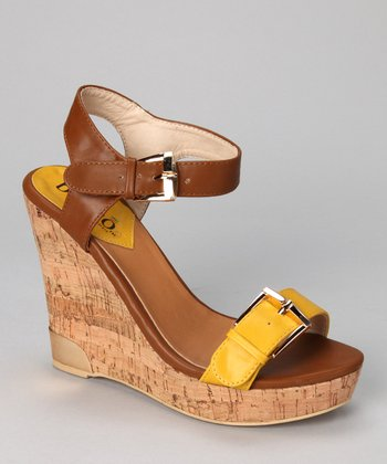 Yellow Severina Wedge
