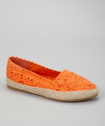 Orange Shae Slip-on