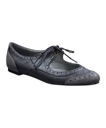 Black Dixieland Cutout Oxford