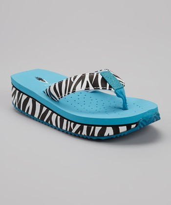 Black & White Zebra Sandal