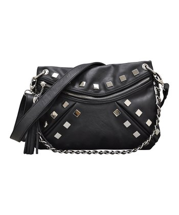 Black Hang Up Crossbody Bag