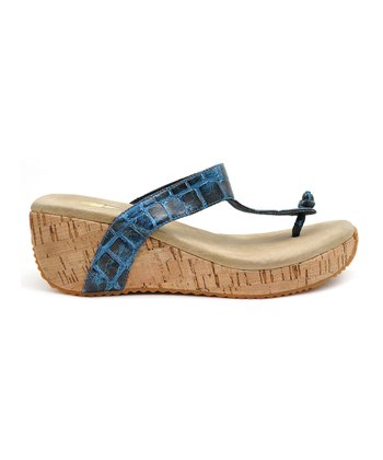 Blue Rage Wedge Sandal