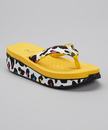 Yellow Speedy Sandal