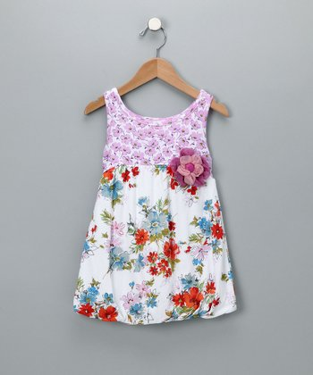 Baby Nay Watercolor Garden Dress