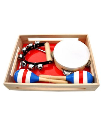 Band in a Box Tambourine Set