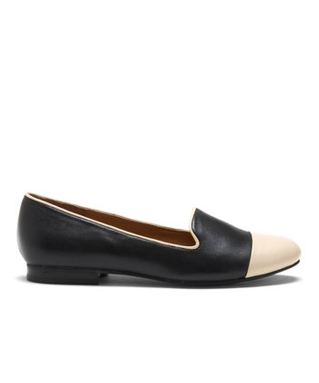 Black & Blush Freud Loafer
